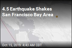 4.5 Quake Rattles Bay Area