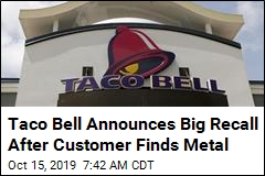 Taco Bell Recalls 2.3M Pounds of Ground Beef