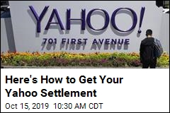 Here's How to Get Your Yahoo Settlement