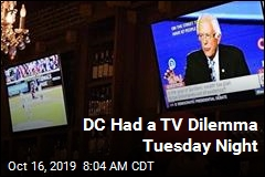 DC Had a TV Dilemma Tuesday Night