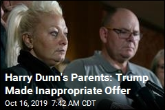 Harry Dunn's Parents 'Shocked' by Trump's Surprise Guest