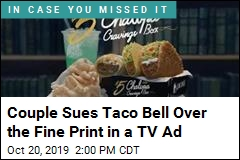 Taco Bell Charged Them an Extra $2.18, So They Sued