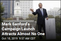 GOP Challenger Sanford Off to a Rough Start