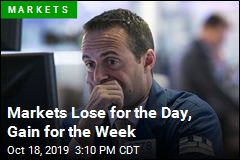 Markets Lose for the Day, Gain for the Week