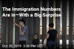 New Immigration Numbers Include 1 Big Surprise