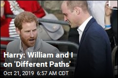 Harry Addresses Talk of 'Rift' With William