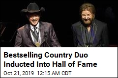 Brooks & Dunn Are Now Hall of Famers