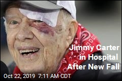 Jimmy Carter Cracks Pelvis in New Fall