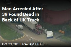 Man Arrested After 39 Found Dead in Back of Truck