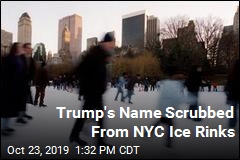 Trump's Name Scrubbed From NYC Ice Rinks