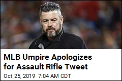 MLB Umpire Sorry for 'CIVAL WAR' Tweet