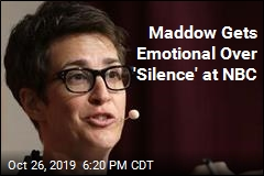 Maddow Makes Emotional Plea Over 'Silence' at NBC
