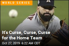 It's Curse, Curse, Curse for the Home Team