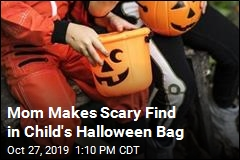 Mom Makes Scary Find in Child's Halloween Bag