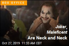 Joker and Maleficent Stay on Top
