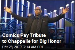 Chappelle Gets Twain Honor. 5 Lines From the Night