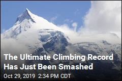 The Ultimate Climbing Record Has Just Been Smashed