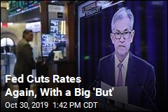 Fed Cuts Rates Again, With a Big 'But'