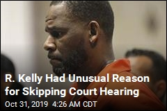 R. Kelly Skips Court Hearing Because of Infected Toe