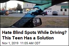 Hate Blind Spots While Driving? This Teen Has a Solution