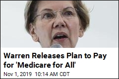 Warren's Health Care Plan: Not 'One Penny' From Middle Class