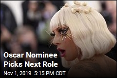 Gaga Takes Next Film Role