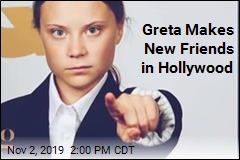 Greta Thunberg Hits Hollywood