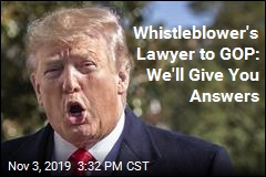 Whistleblower Is Willing to Answer GOP Questions