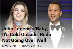 John Legend's 'Baby, It's Cold Outside' Redo Not Going Over Well