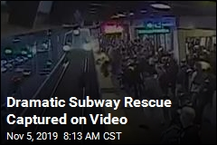 Dramatic Subway Rescue Captured on Video