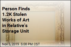 Caller Alerts Police to $800K of Stolen Art in His House