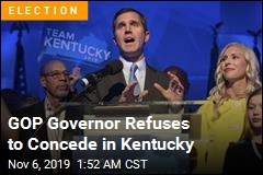 Democrat Claims Victory in Kentucky Governor's Race