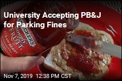 At This University, You Can Pay Parking Fines With PB&J