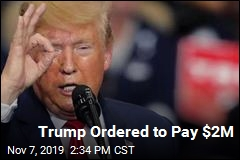 Trump Ordered to Pay $2M