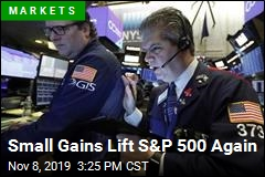 Small Gains Push Indexes Up