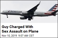 Guy Charged With Sex Assault on Plane
