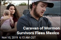 Caravan of Mormon Survivors Flees Mexico