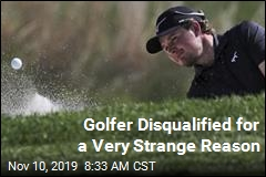 Golfer Disqualified for Losing All His Balls