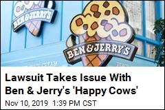 Ben & Jerry's Sued Over the Phrase 'Happy Cows'