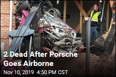 2 Dead After Porsche Goes Airborne