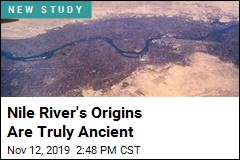 Nile River May Shed Light on Earth's Inner Workings