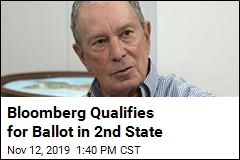 Bloomberg Puts His Name on Ballot in 2nd State