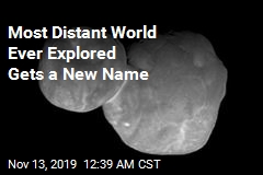 Most Distant World Ever Explored Gets a New Name