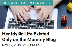 Her Life Was Perfect, but Only on Her Mommy Blog