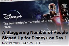 10M People Signed Up for Disney+ on Day 1