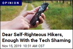 Stop the Tech Shaming for Outdoors Activities