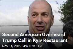 Second American Overheard Trump Call in Kyiv Restaurant