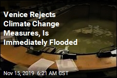 Venice Rejects Climate Change Measures, Is Immediately Flooded