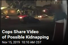 Cops Share Video of Possible Kidnapping