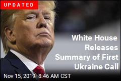 White House Releases Summary of First Ukraine Call